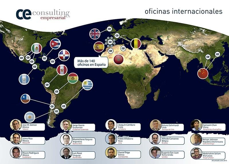 Oficinas Internacionales CE Consulting